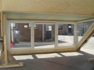 Prefab dakkapel binnenzijde