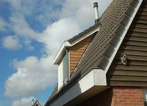 Dakkapel slepend dak hout