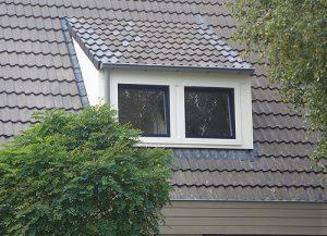 Slepend dak dakkapel