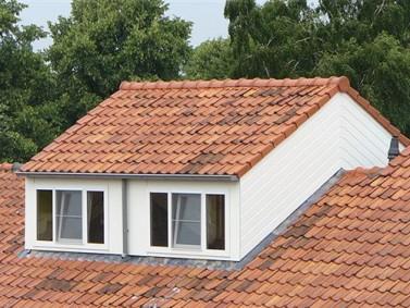 dakkapel met verhoogde nok dakrijden
