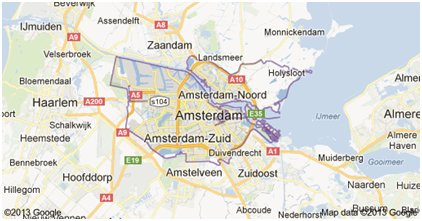omgevingsvergunning amsterdam
