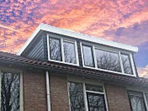 dakkapel dubbel 5 meter plat dak