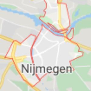 stad nijmegen kaart