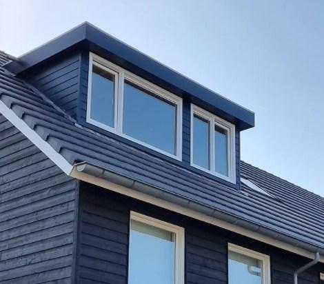 dakkapel van kunststof 450cm achterkant